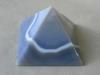 blue lace agate pyramid
