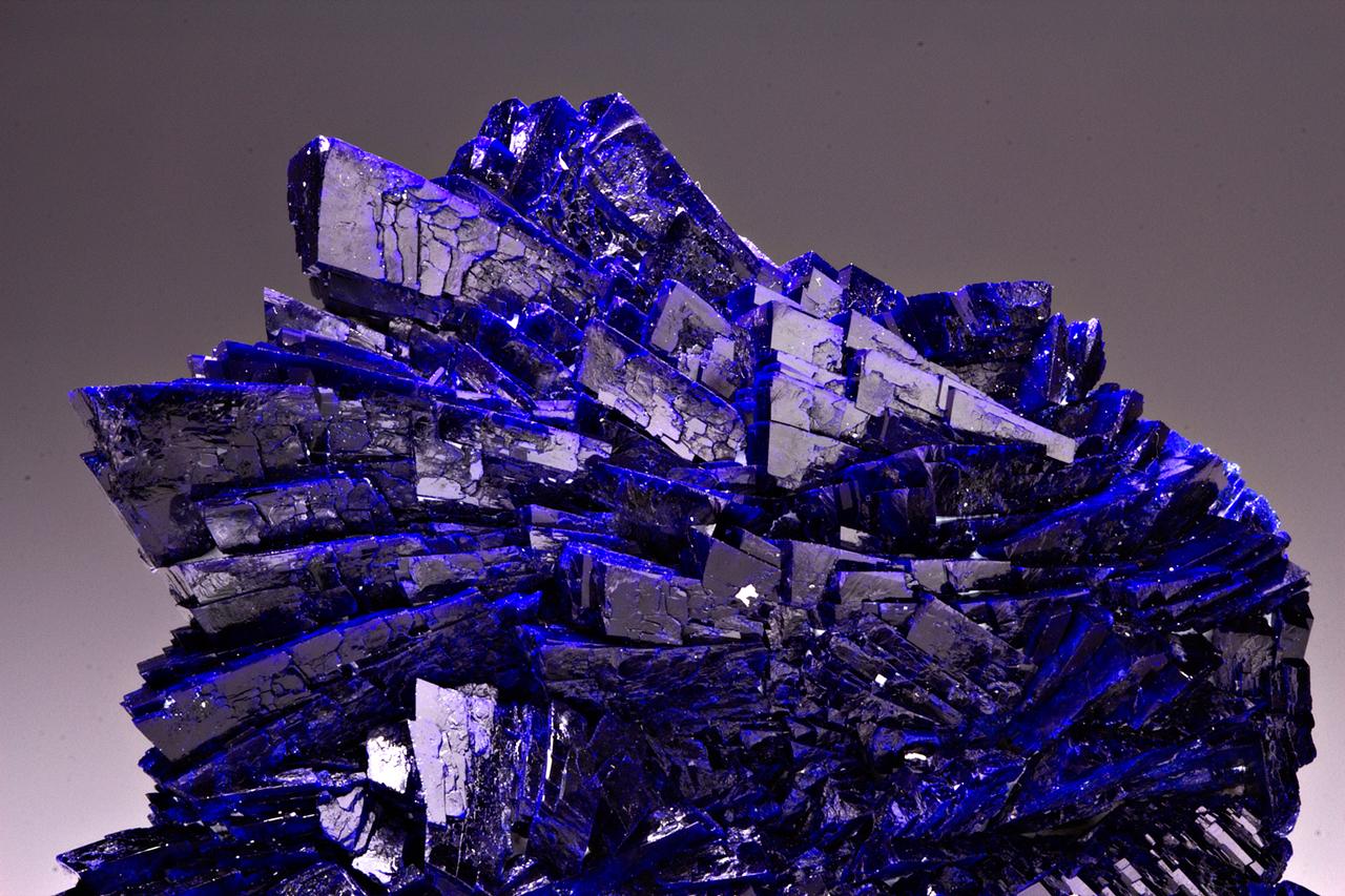 Azurite-crystal